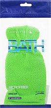 Düfte, Parfümerie und Kosmetik Badehandschuh hellgrün - Suavipiel Bath Micro Fiber Mitt Extra Soft