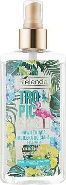 Feuchtikeitsspendendes Körperspray mit ätherischem Öl aus grünem Tee und Gardenie - Bielenda Tropic Vibes — Bild N1
