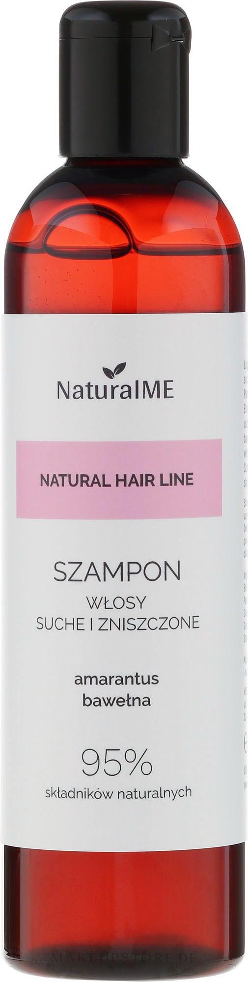 Sanftes Shampoo für trockenes und strapaziertes Haar - NaturalME Natural Hair Line Shampoo — Bild 300 ml