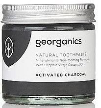 Düfte, Parfümerie und Kosmetik Natürliche und mineralstoffreiche Zahnpasta mit Aktivkohle - Georganics Activated Charcoal Natural Toothpaste