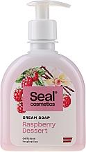 Düfte, Parfümerie und Kosmetik Flüssige Cremeseife Himbeerdessert - Seal Cosmetics Cream Soap