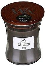 Duftkerze im Glas Sand & Driftwood - WoodWick Hourglass Candle Sand & Driftwood — Bild N3