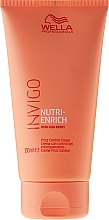 Düfte, Parfümerie und Kosmetik Haarcreme für widerspenstiges Haar mit Goji Beeren - Wella Professionals Invigo Nutri-Enrich Frizz Control Cream