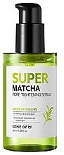 Düfte, Parfümerie und Kosmetik Reinigendes porenverengendes und seboregulierendes Gesichtsserum gegen Mitesser mit Matcha-Wasser - Some By Mi Super Matcha Pore Tightening Serum
