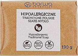Düfte, Parfümerie und Kosmetik Hypoallergene traditionelle polnische graue Seife aus Palmöl - Barwa Natural Soap