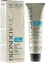 Düfte, Parfümerie und Kosmetik Aufhellungscreme ohne Ammoniak - Revlon Professional Blonderful Soft Lightener Cream