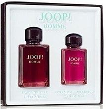 Düfte, Parfümerie und Kosmetik Joop! Joop Homme - Kosmetikset (Eau de Toilette/125ml + After Shave Balsam/75ml)