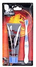 Düfte, Parfümerie und Kosmetik Zahnpflegeset für Kinder - Corsair Jurassic World (Zahnpaste 75ml + Zahnbürste 1St.)
