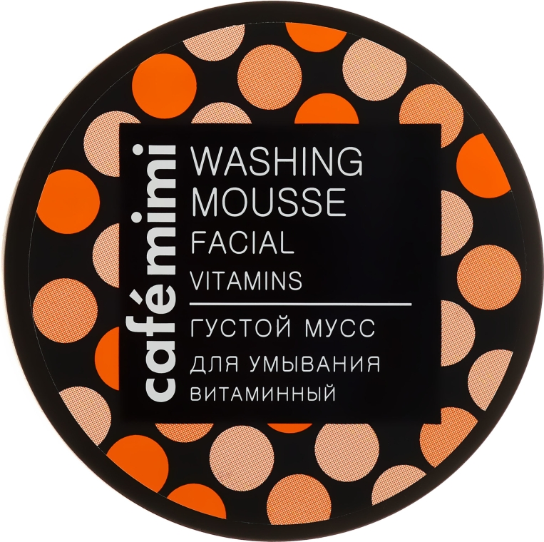 Regenerierende Gesichtswaschmousse - Cafe Mimi Washing Mousse Facial Vitaminc