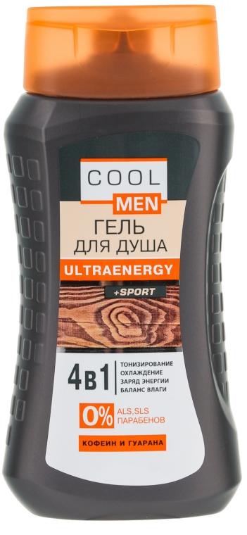 Energetisierendes Duschgel-Shampoo mit Koffein und Guaraná - Cool Men Ultraenergy + Sport — Bild N1