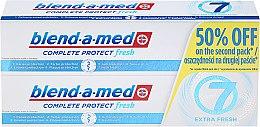 Düfte, Parfümerie und Kosmetik Zahnpasta Complete Protect Fresh 7 Extra Fresh 2 St. - Blend-a-med Complete 7 Extra Fresh (Zahnpasta 2x100ml)