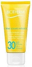 Düfte, Parfümerie und Kosmetik Anti-Aging-Sonnenschutz Gesichtscreme - Biotherm Sun Protection Creme Solaire Anti-age SPF 30