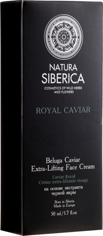 Extra-Lifting Gesichtscreme mit Beluga-Kaviar-Extrakt - Natura Siberica Absolut Beluga Cavia Extra-Lifting Face Cream