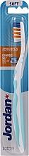 Düfte, Parfümerie und Kosmetik Zahnbürste weich Advanced ohne Schutzkappe Minze - Jordan Advanced Soft Toothbrush