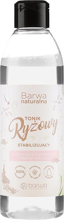 Erfrischendes Reistonikum für Gesicht mit Vitaminen - Barwa Natural