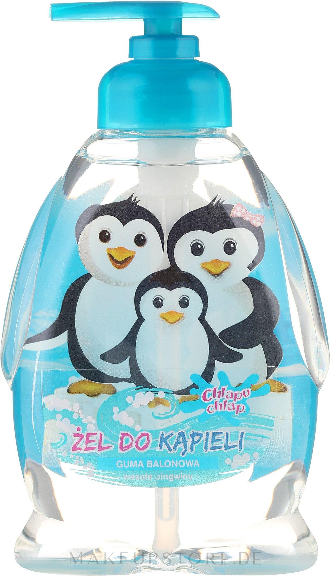 "Kinder Duschgel ""Penguins Family"" - Chlapu Chlap Bath & Shower Gel — Bild 370 ml"