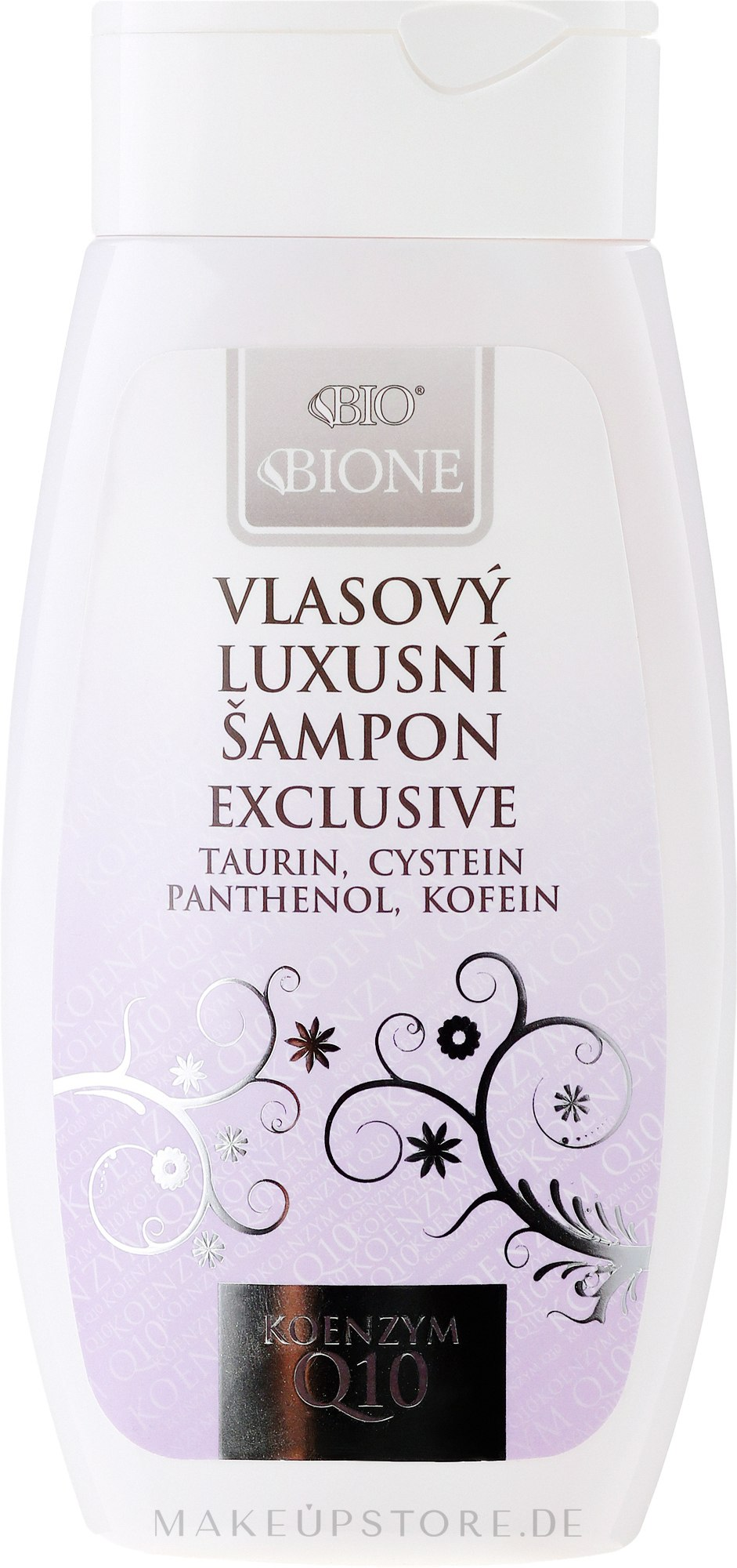 Shampoo - Bione Cosmetics Exclusive Luxury Hair Shampoo With Q10 — Bild 260 ml