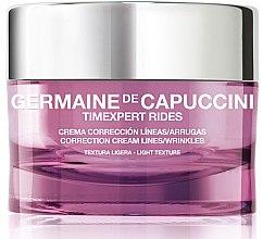 Düfte, Parfümerie und Kosmetik Korrigierende Gesichtscreme gegen Falten - Germaine de Capuccini Timexpert Rides Correction Light Cream