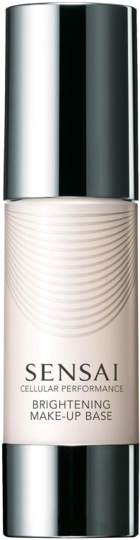 Anti-Aging lichtreflektierende und aufhellende Grundierung LSF 15 - Kanebo Sensai Cellular Performance Brightening Make-Up Base — Bild N1
