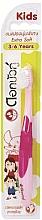 Düfte, Parfümerie und Kosmetik Zahnbürste für Kinder 3-6 Jahre extra weich rosa - Twin Lotus Dok Bua Ku Kids Toothbrush ExtraSoft