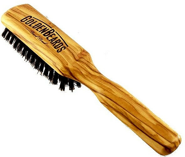 Bartbürste 20 cm - Golden Beards Beard Brush — Bild N1