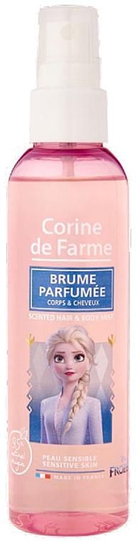 Corine de Farme Frozen II - Parfümierter Haar- und Körpernebel für empfindliche Haut — Bild N1