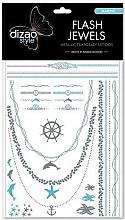 Düfte, Parfümerie und Kosmetik Tattoo-Stickers für den Körper - Dizao Flash Jewels