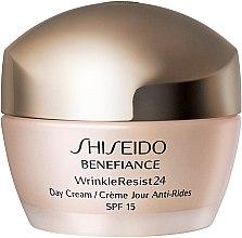 Düfte, Parfümerie und Kosmetik Feuchtigkeitsspendende Anti-Falten Tagescreme SPF 15 - Shiseido Benefiance WrinkleResist24 Day Cream SPF15
