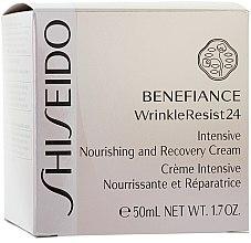 Intensiv pflegende und regenerierende Gesichtscreme - Shiseido Benefiance Intensive Nourishing and Recovery Cream  — Bild N2