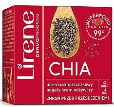 Düfte, Parfümerie und Kosmetik Nährende Gesichtscreme mit Chiasamen - Lirene Superfood For Skin