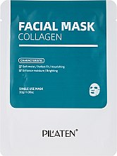 Milde feuchtigkeitsspendende und nährende Gesichtsmaske mit Kollagen - Pilaten Collagen Facial Mask — Bild N1