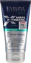 Düfte, Parfümerie und Kosmetik 6in1 Gesichtsreinigungsgel mit Matt-Effekt - Eveline Cosmetics Men Extreme