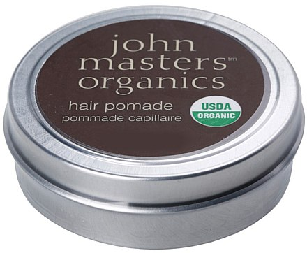 Haarwachs mit Anti-Frizz- und Glanz-Effekt - John Masters Organics Hair Pomade — Bild N1