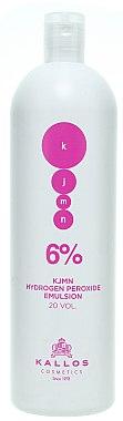 Entwicklerlotion 6% - Kallos Cosmetics KJMN Hydrogen Peroxide Emulsion — Bild N2