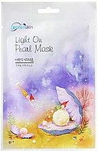 Düfte, Parfümerie und Kosmetik Regenerierende Tuchmaske mit Perlenextrakt - Purenskin Light On Pearl Mask