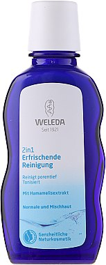2in1 Erfrischende Reinigungsmilch - Weleda 2in1 Erfrischende Reinigung — Bild N2