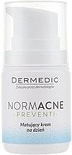 Düfte, Parfümerie und Kosmetik Mattierende Tagescreme für das Gesicht - Dermedic Normacne Mattiffying Day Cream