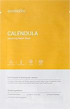 Düfte, Parfümerie und Kosmetik Beruhigende Tuchmaske mit Calendula-Extrakt - Aromatica Calendula Soothing Relief Mask