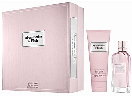 Düfte, Parfümerie und Kosmetik Abercrombie & Fitch First Instinct - Duftset (Eau de Parfum 50ml + Körperlotion 100ml)