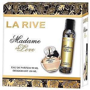 La Rive Madame In Love - Kosmetikset (Eau de Parfum/90ml + Deodorant/150ml) — Bild N1