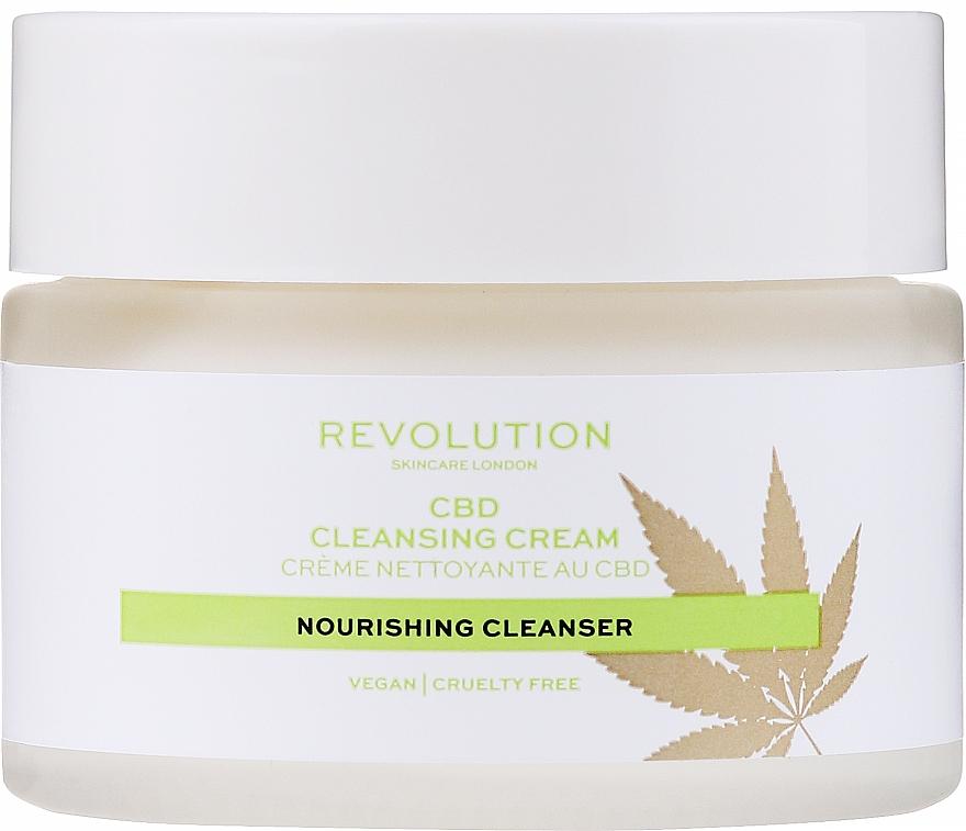 Gesichtsreinigungscreme - Revolution Skincare CBD Cleansing Cream — Bild N2