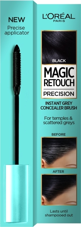 Concealer für graues Haar - L'Oreal Magic Retouch Precision Instant Grey Concealer Brush — Bild N1