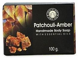 Düfte, Parfümerie und Kosmetik Handgemachte Körperseife Patchouli und Bernstein - Song of India Soap Patchouli Amber