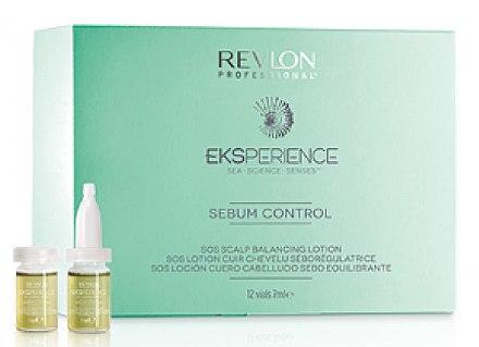 Sebumregulierende Kopfhaut-Ampullen für fettiges Haar - Revlon Professional Eksperience — Bild N1