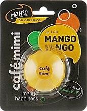 Düfte, Parfümerie und Kosmetik Lippenbalsam mit Mango - Cafe Mimi Lip Balm Mango Tango
