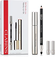 Düfte, Parfümerie und Kosmetik Make-up Set (Wimperntusche/8ml+Kajalstift/1,2g) - Clarins Smokey Eyes