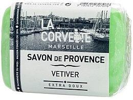 Düfte, Parfümerie und Kosmetik Seife Vetiver - La Corvette Provence Vetiver