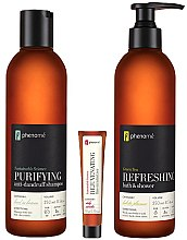 Körperpflegeset - Phenome Sustainable Science (Shampoo 250ml + Creme 10ml + Duschgel 250ml) — Bild N2