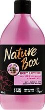 Düfte, Parfümerie und Kosmetik Feuchtigkeitsspendende Körperlotion mit Mandelöl - Nature Box Almond Oil