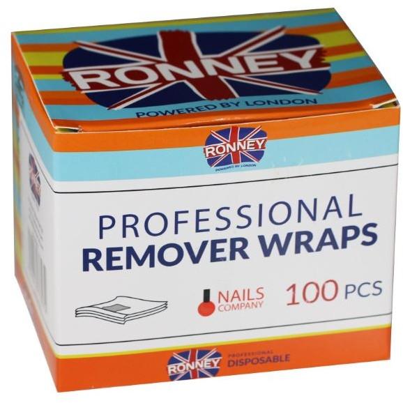 Aluminiumfolie zum Entfernen von Hybridlack - Ronney Professional Remover Wraps — Bild N1
